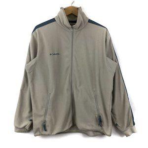 Vintage Columbia Fleece Embroidered Zip Up Sweater